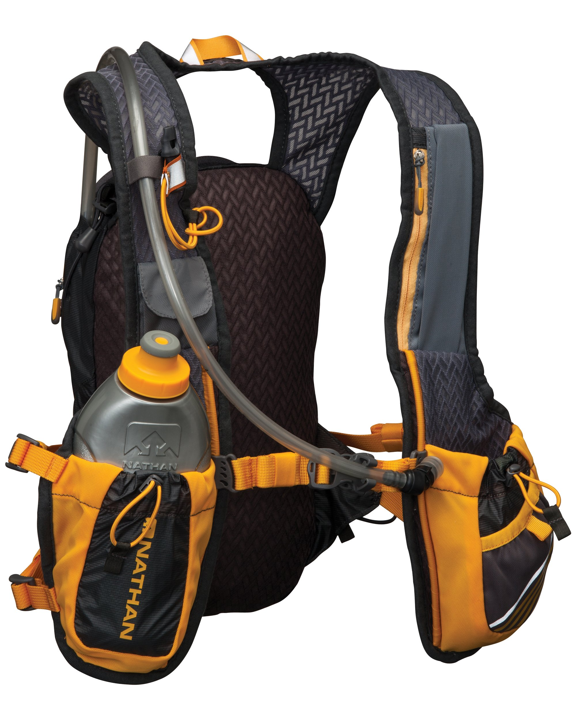 Nathan Zelos 2-Liter Hydration Vest, Nathan Grey, One Size by Nathan (Image #2)