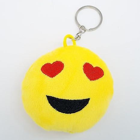 2 pulgadas Mini Love Emoji Llavero Llavero - amarillo GN ...