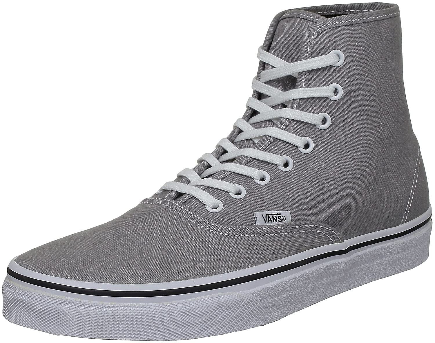 vans high tops mens grey