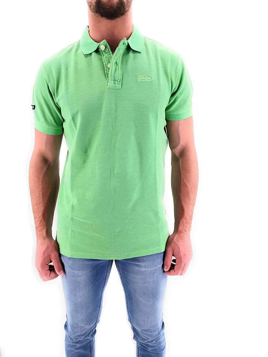 Datch Polo Uomo Manica Corta Basic: Amazon.es: Ropa y accesorios
