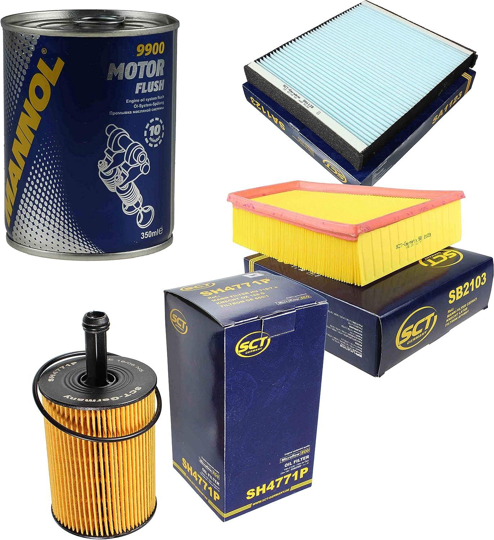Original SCT Inspektionspaket Filter Set Motor Flush Motorsp/ülung 11585979