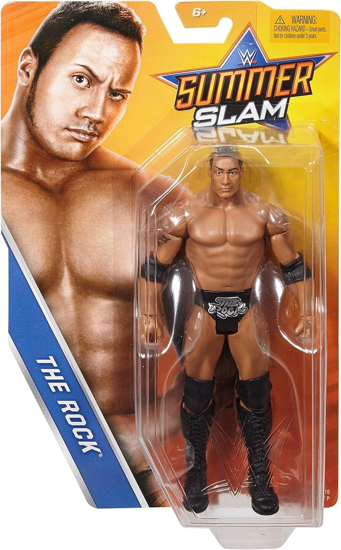 WWE Wrestling Basic Series Summer Slam The Rock Action Figure 1999