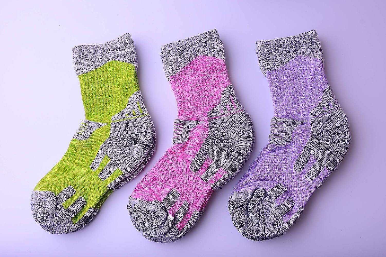 XIKUN Womens Hiking Socks Wicking Cushion Outdoor Sports Multi Performance Trekking Climbing Crew Socks