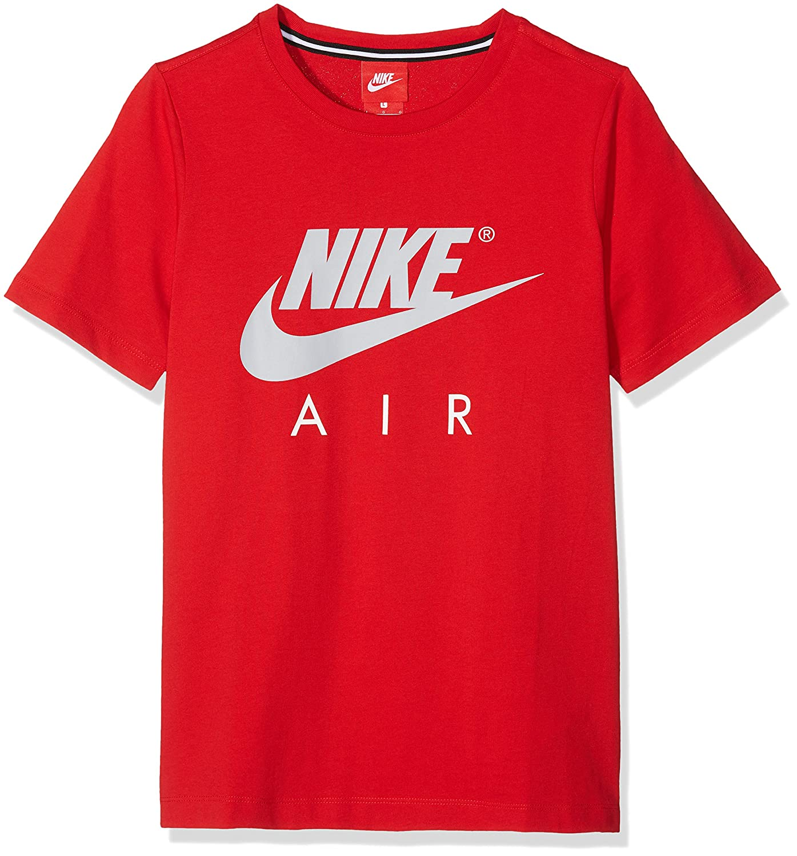 identificación abeja A través de  Nike B Nk Air SS C and S Camiseta de Manga Corta Niños creeo.com.br