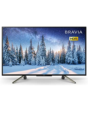 Sony Bravia KDL43WF663 43-Inch Full HD HDR Smart TV with Freeview Play, Black [Energy Class A++]