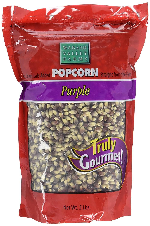 Wabash Valley Farms Gourmet Popcorn Kernels, Baby White, 2 lb, 921g Wabash Valley Farms - Grocery 42503