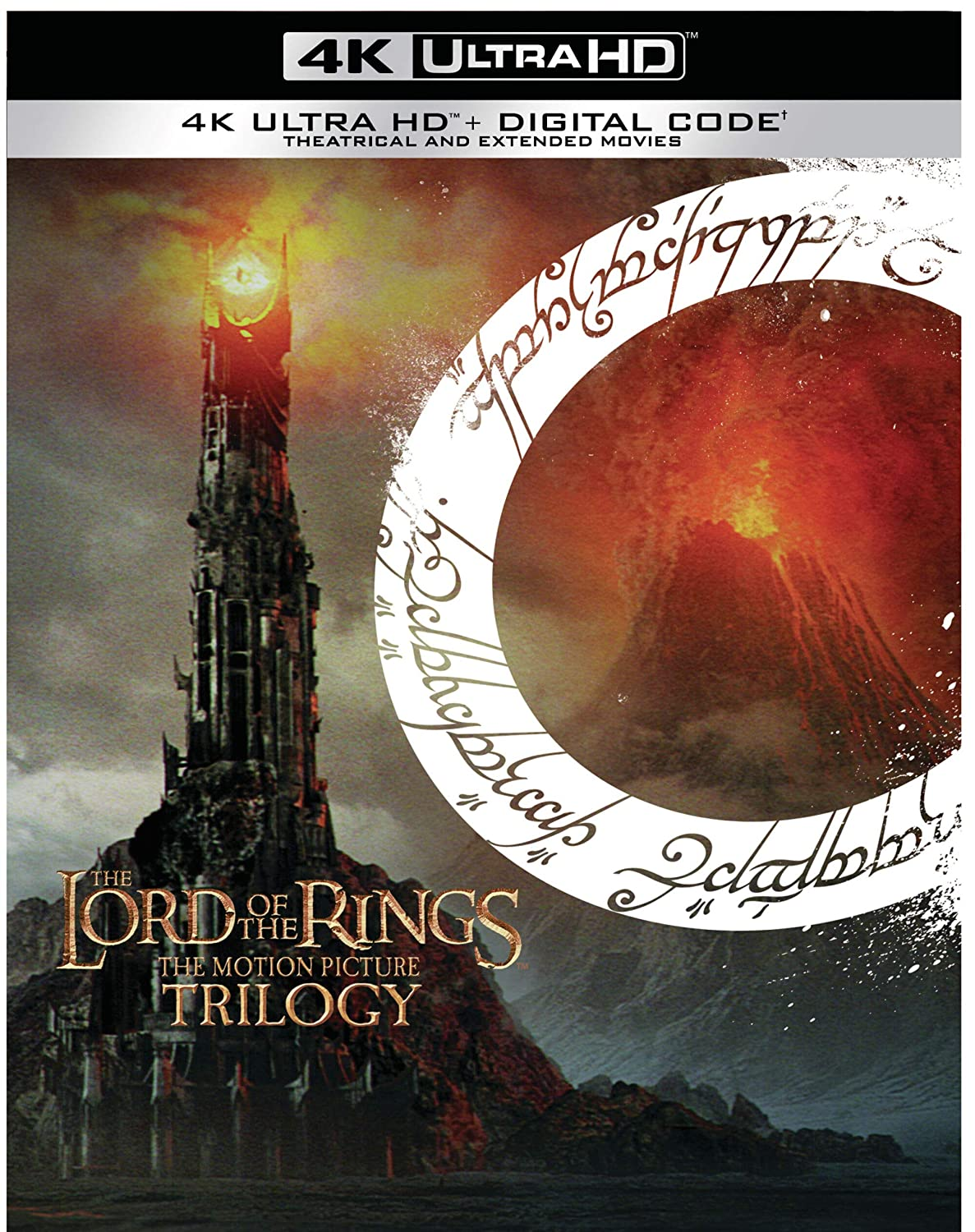 Lord Of The Rings The Motion Picture Trilogy Extended Theatrical 4k Ultra Hd Digital Blu Ray Mark Ordesky Barrie M Osborne Peter Jackson Bob Weinstein Fran Walsh Harvey Weinstein Tim Sanders