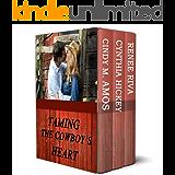 Taming the Cowboy's Heart: Three contemporary cowboy romances