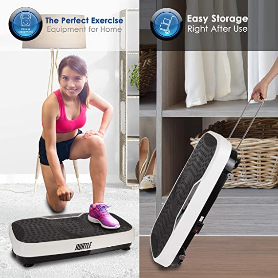 Amazon.com: Hurtle – Máquina de fitness con vibración de pie ...