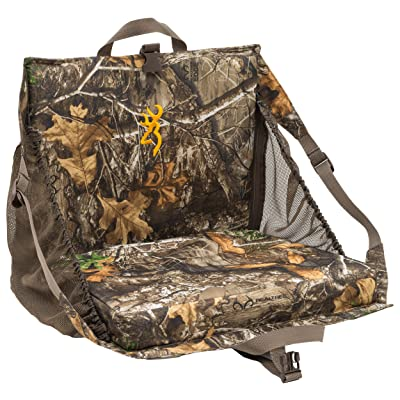 Browning Camping Tracker + XT Seat, Realtree Edge : Camping Chairs : Sports & Outdoors