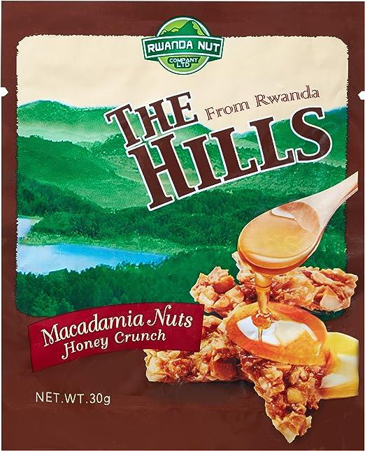 ザ・ヒルズ マカデミアナッツ ハニークランチ風味 30g 5袋セット(The Hills from Rwanda) / ナッツ ルワンダ アフリカ マカダミア
