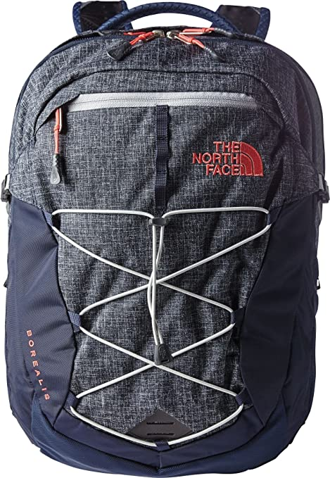 a8bb922ac The North Face Women Borealis Backpack, Urban Navy Heather/Pink ...