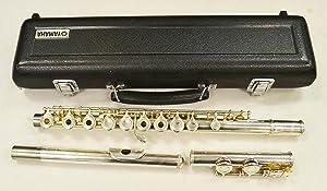 Yamaha 200 Series Open Hole Student Flute YFL-281 C Foot, Inline G