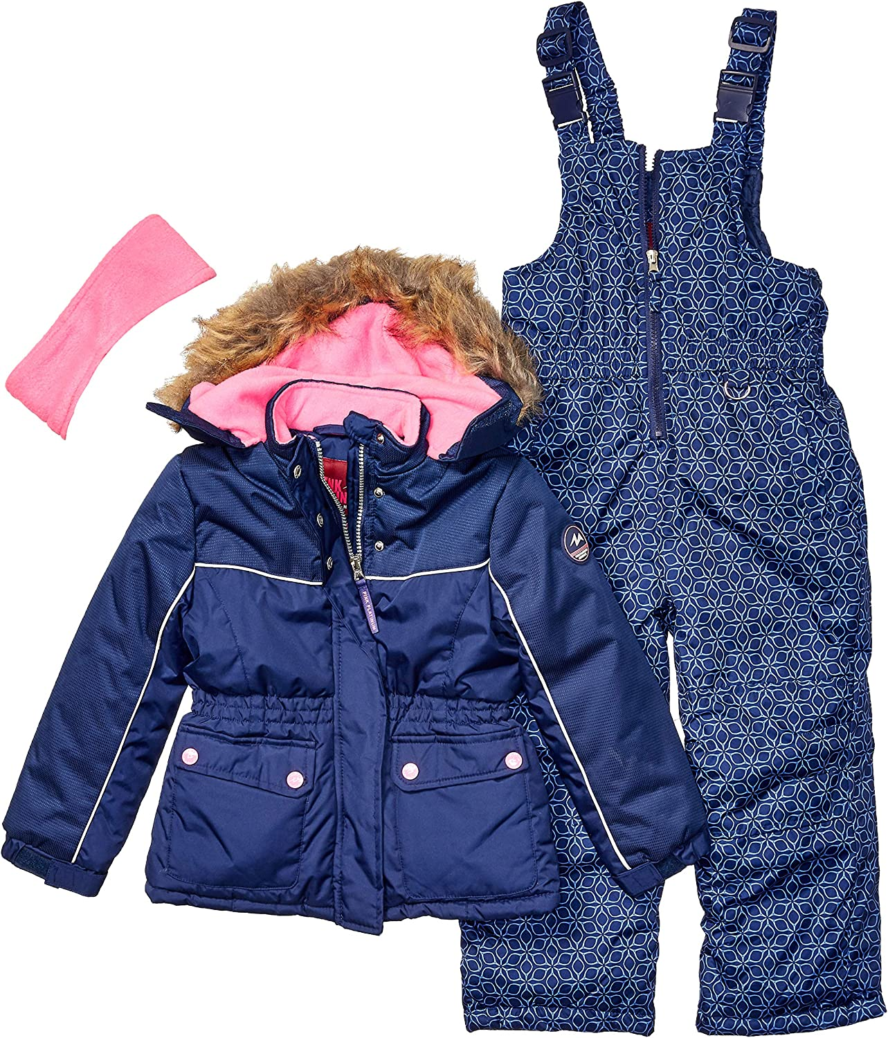 Amazon.com: Pink Platinum - Traje de nieve para niña: Clothing