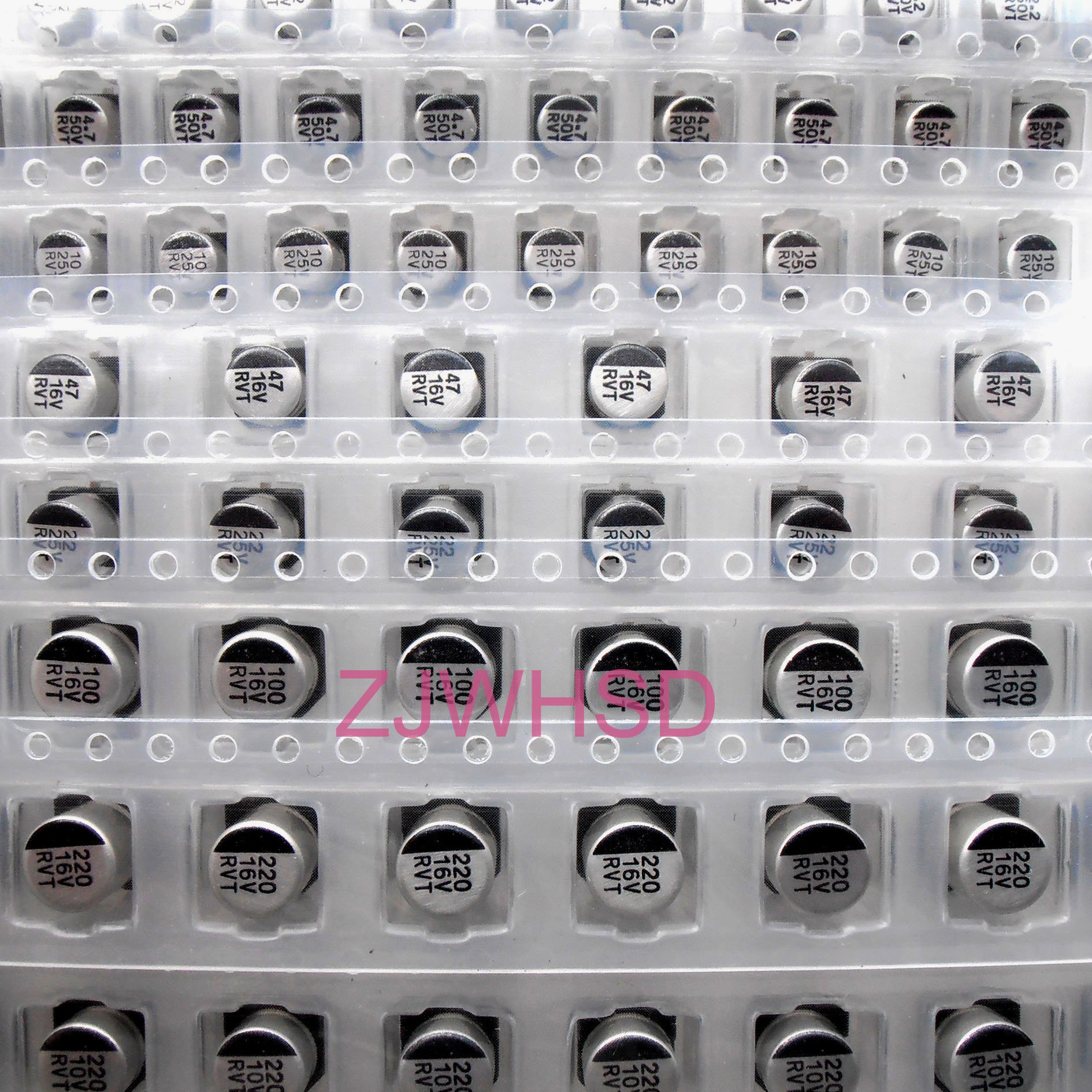 (1uF-220uF) 130pcs 13Value SMD Aluminum Electrolytic Capacitor Assorted Kit Set [waynetool]