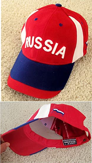 f167dea87d5 Image Unavailable. Image not available for. Color  Russian Baseball Cap  Russia Hat Embroidered