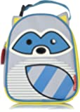 Skip Hop Zoo Lunchie Insulated Kids Lunch Bag, Raccoon
