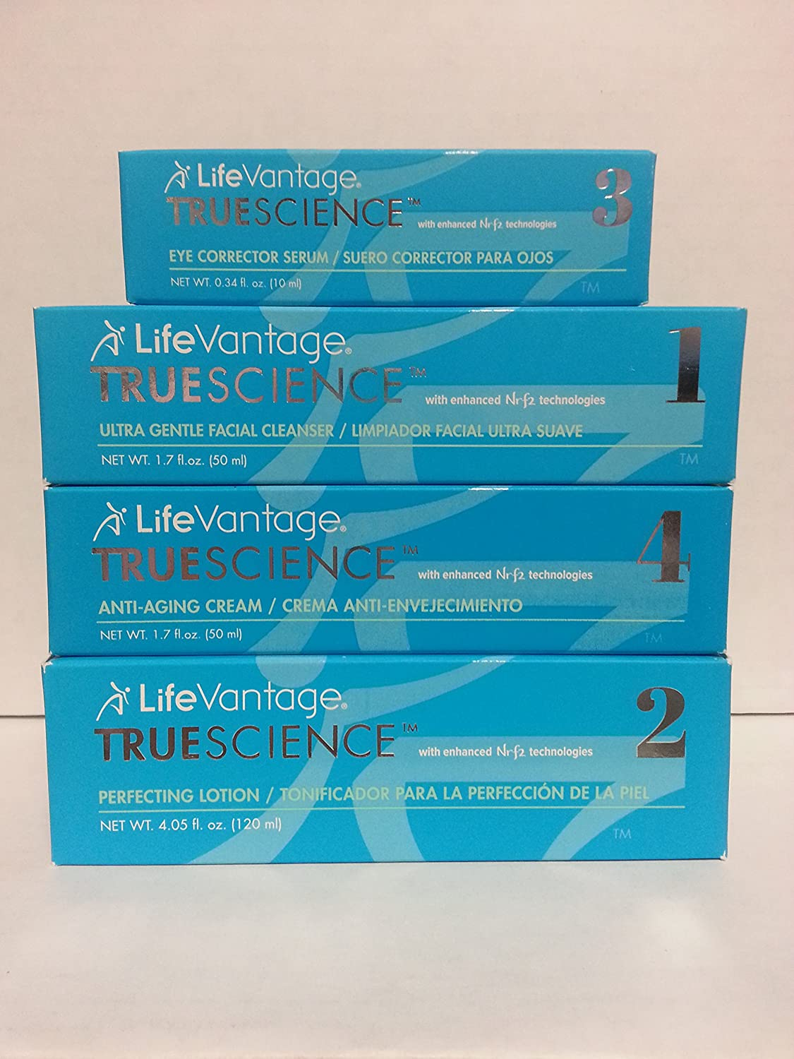 Amazon.com: Lifevantage Truescience Complete Skin Care System - Anti ...