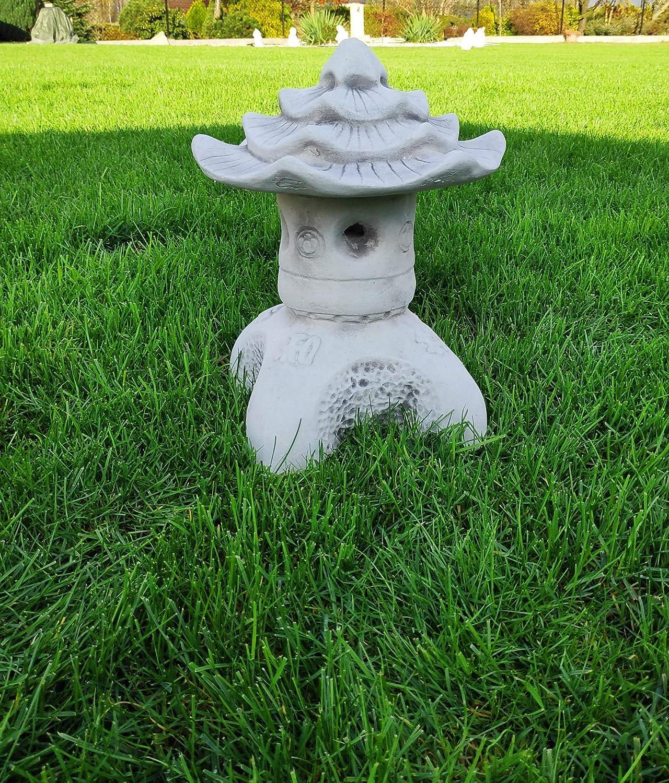 Pagoda Japonesa de Piedra Pagoda de la Paz Viena Linterna de Adorno para jardín: Amazon.es: Jardín