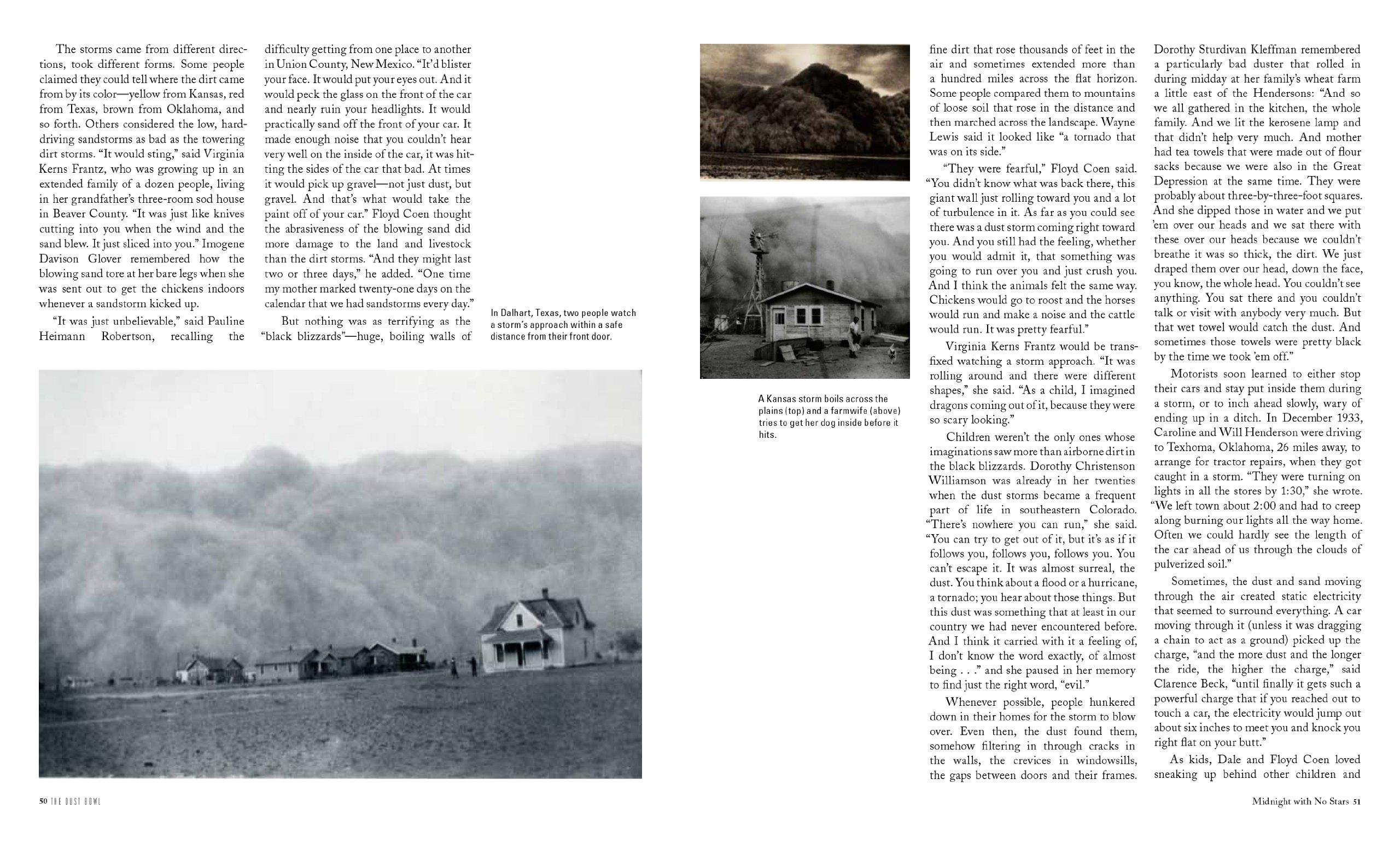 The Dust Bowl: An Illustrated History: Ken Burns, Dayton Duncan:  9781452107943: Amazon: Books