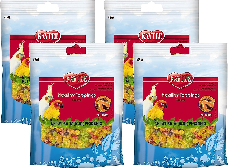 Kaytee Fiesta Healthy Toppings Avian(Pack of 4)