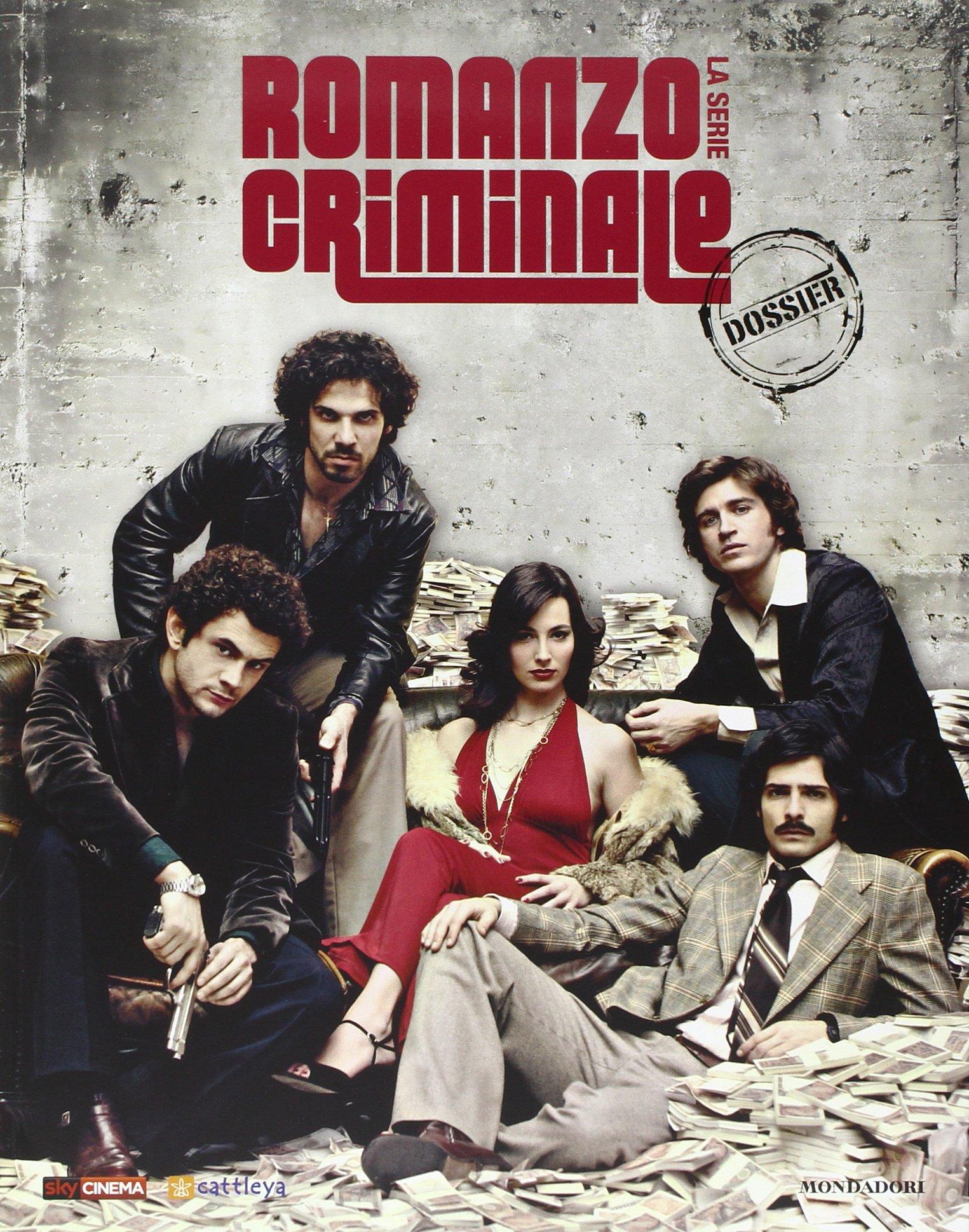 Romanzo criminale. La serie. Ediz. illustrata. Con DVD: Amazon.it: Pisoni,  R.: Libri