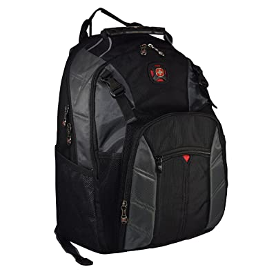 """best SwissGear Sherpa 16"""" Padded Laptop Backpack/School Travel Bag"""