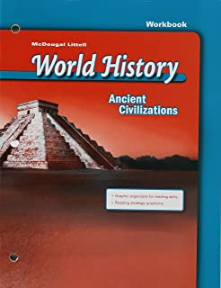 World history ancient civilizations mcdougal littel 9780618347919 mcdougal littell world history ancient civilizations workbook fandeluxe Gallery