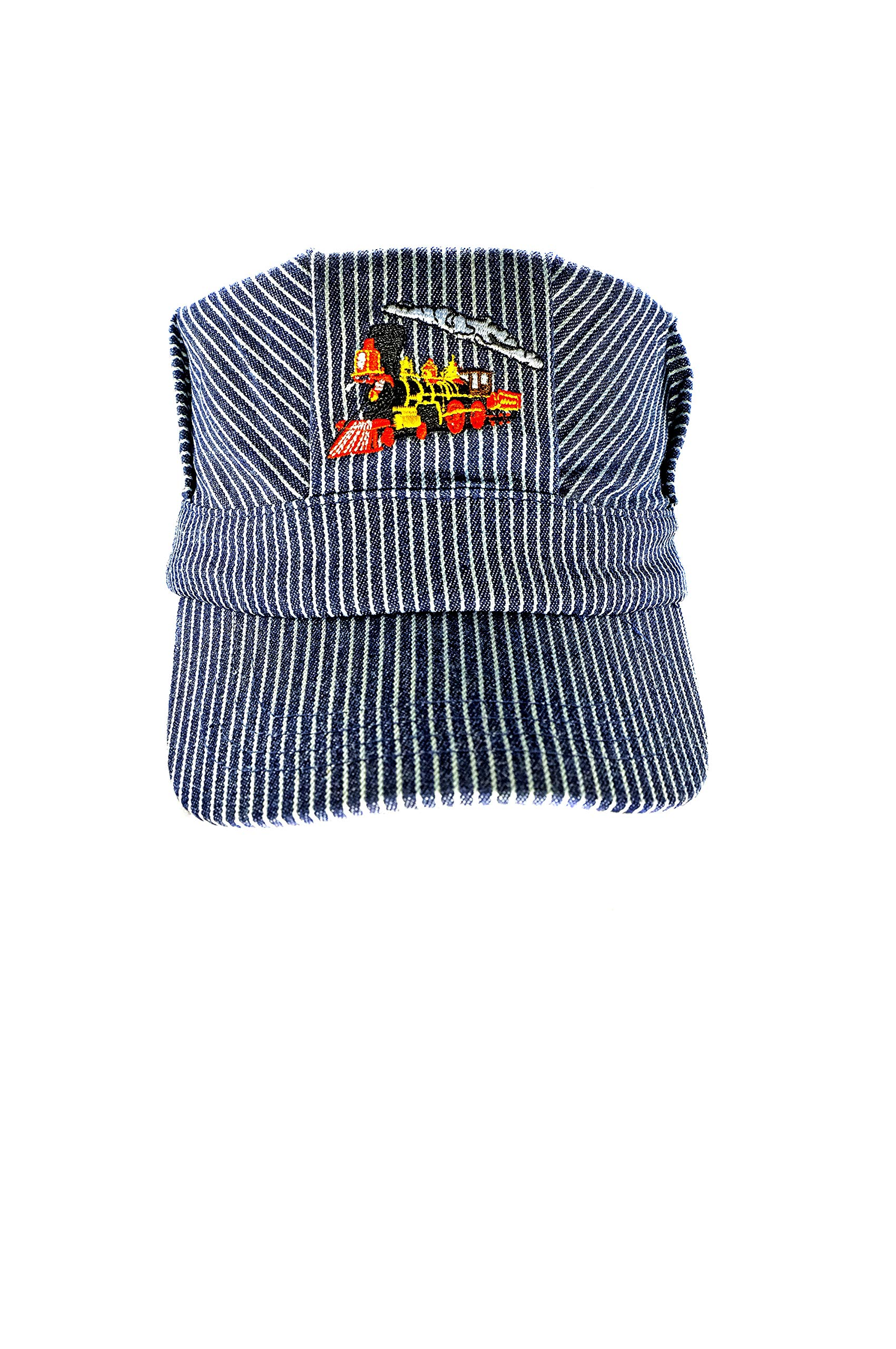 Pinnacle Awards Canada The ''Real Deal  Boy's Red Steam Engine , Embroidered Train Engineer Hat , with  I Love Train's