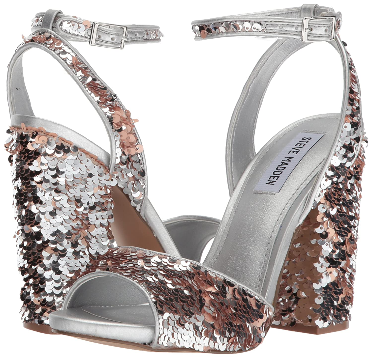 fb667dcc7ee Steve Madden Women s Ritzy Heeled Sandal  Buy Online at Low Prices in India  - Amazon.in