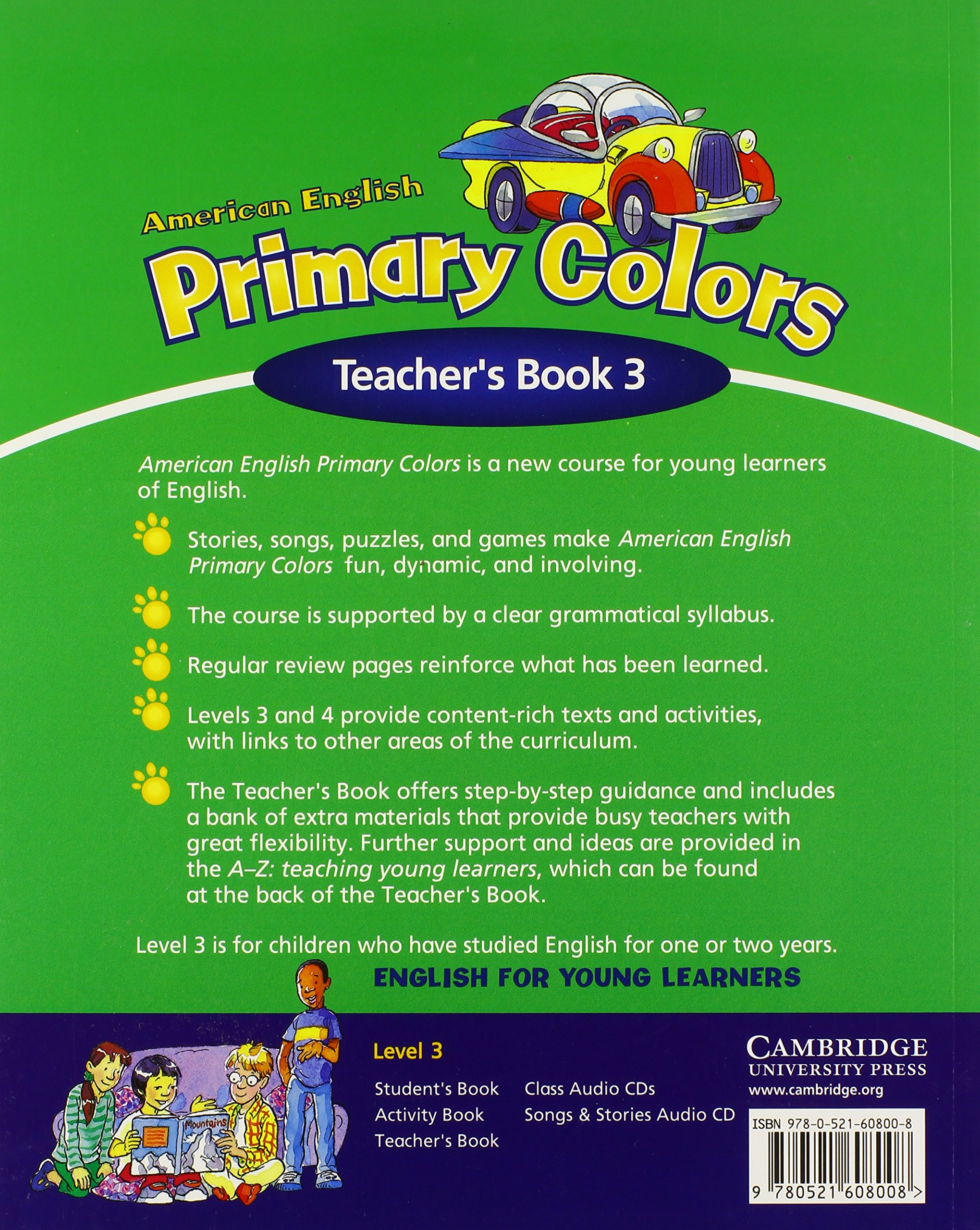 American English Primary Colors 3 Teachers Book Primary Colours