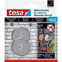 Tesa adhesivas Tornillo para muros y piedra, potencia