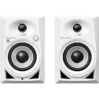 Pioneer DJ Studio Monitor, White, One Size (DM40BTW)