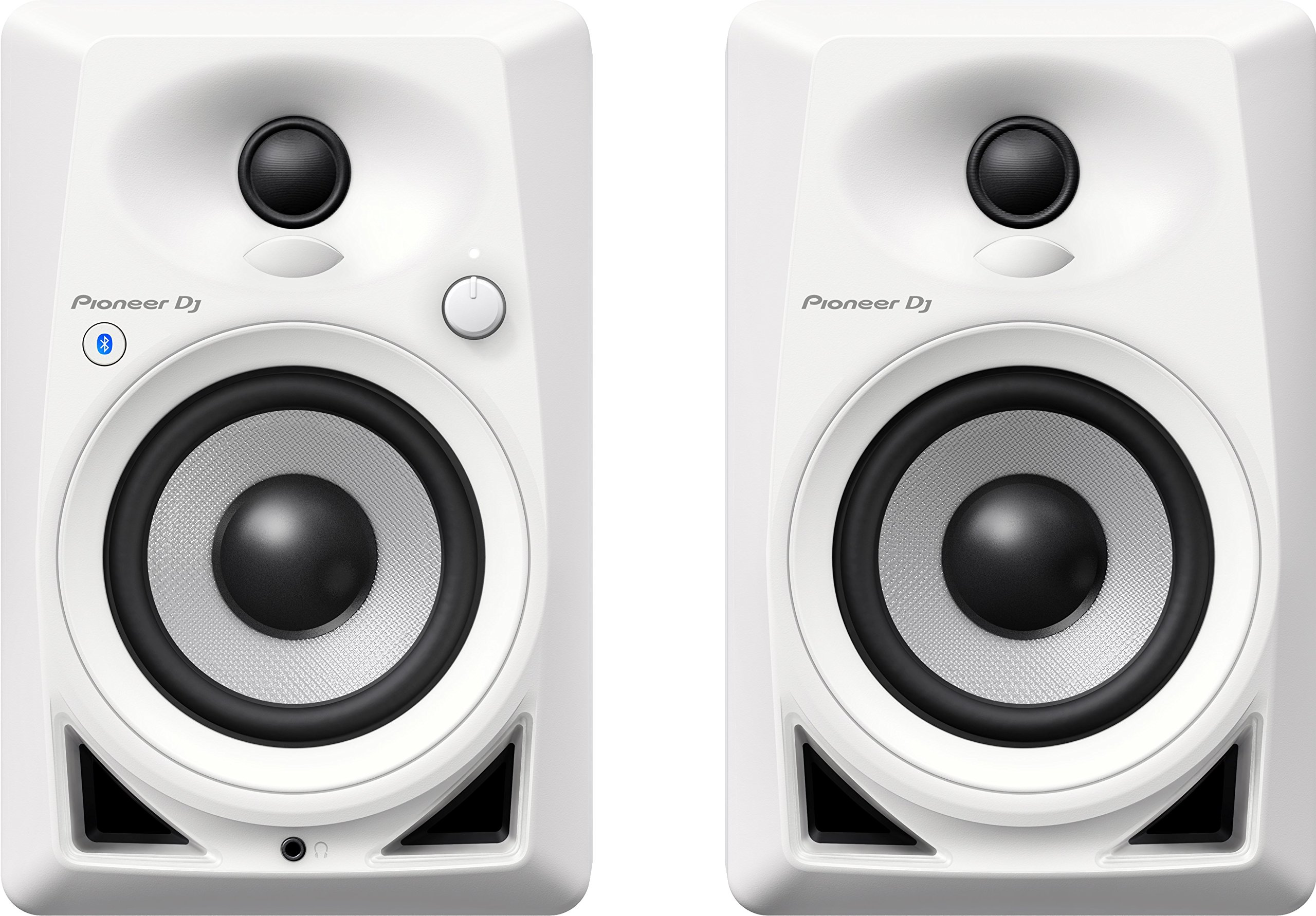 Pioneer DJ DM-40BT-W Bluetooth Desktop Monitors, White