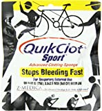 "QuikClot Sport, Advanced Clotting Sponge 25 gram, 3.5"" x 3.5"""