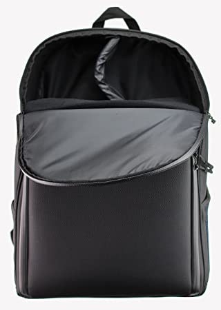 f41e187d9c59 Navitech Portable Rugged Black & Blue DJ Controller Backpack / Rucksack  Carry Case for the Hercules DJControl Air+