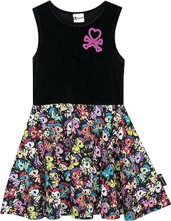 Tokidoki - Vestido para Niñas 12 a 13 Años