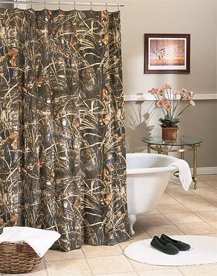 Kimlor Camo Shower Curtain Mossy Oak Break Up