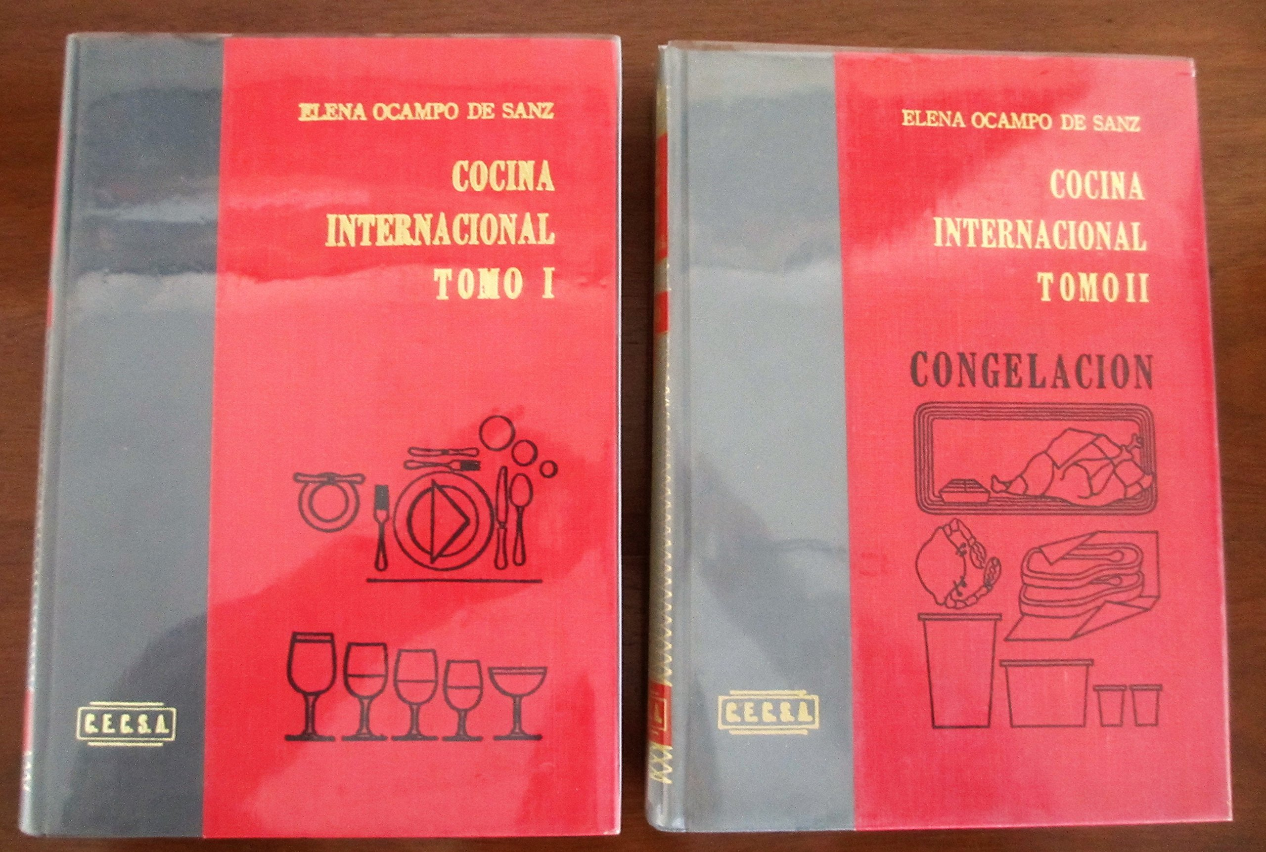 Cocina Internacional 2 Vol Set Hardcover – 1983