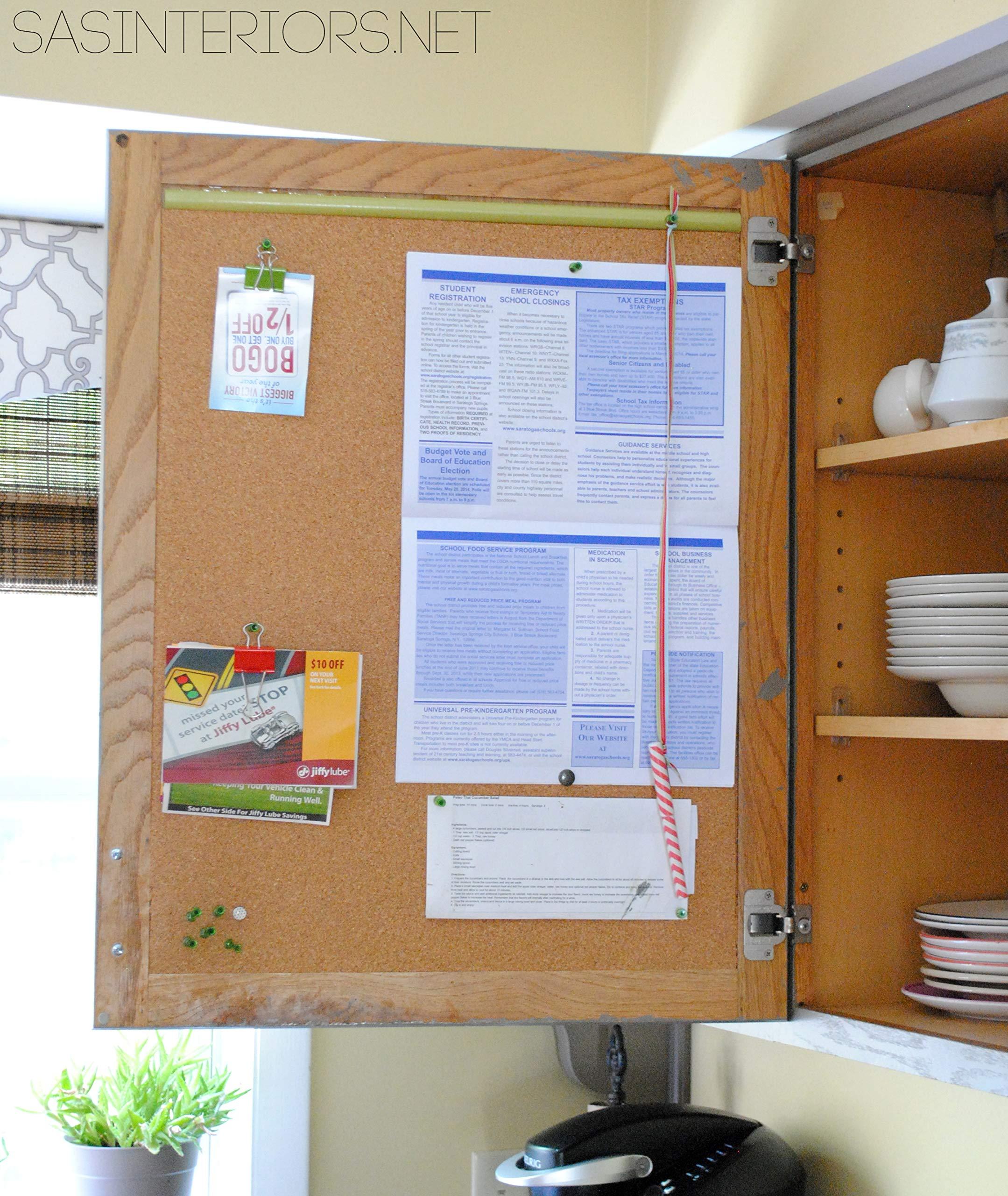 VViViD Adhesive Backed Natural Texture Cork Board Sheet Paper Long Roll (17.9 Inch x 10ft) by VViViD
