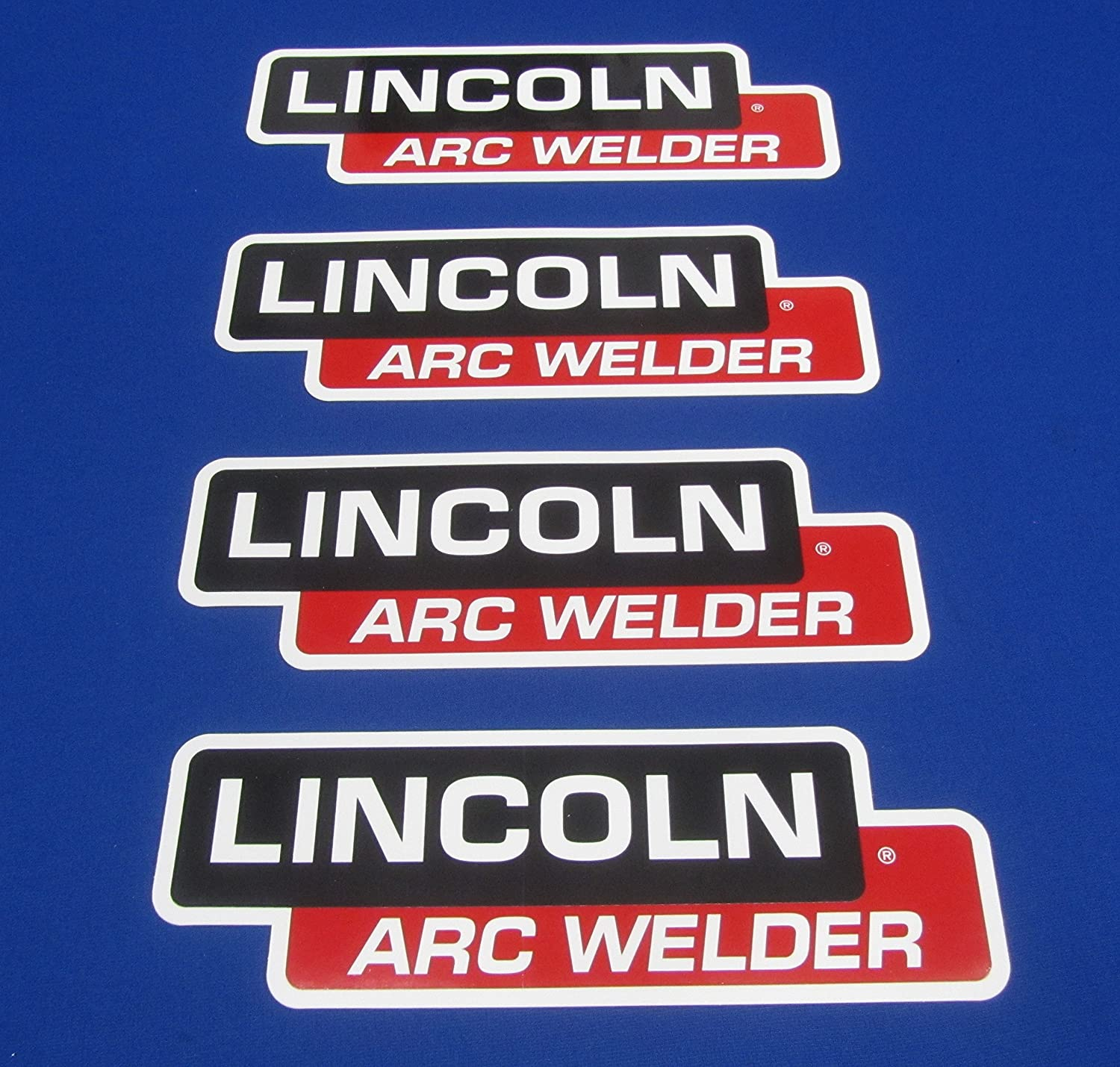 4 Lot Oem Hood Decal Fits Lincoln Arc Welder Sa 200 250 Sae 300 400 Custom Parts Pipeline Industrial Scientific