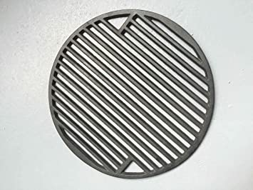 YNNI KAMADO - Rejilla Redonda de Hierro Fundido para Barbacoa (30 cm, 3 kg