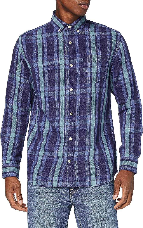 Jack & Jones Jjbyron Shirt LS Camisa para Hombre: Amazon.es ...