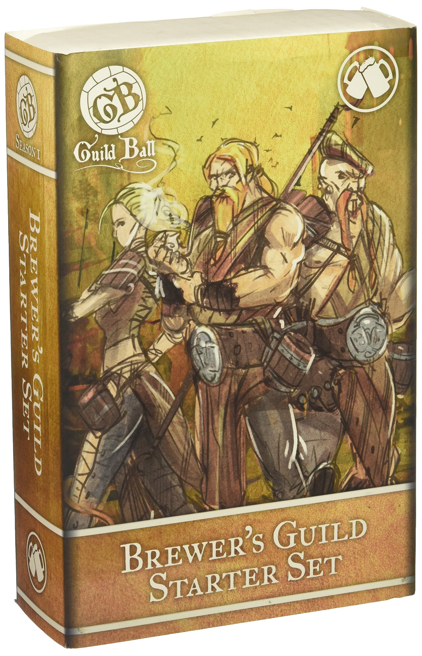 Steamforged Games Guild Ball Brewer Starter Set