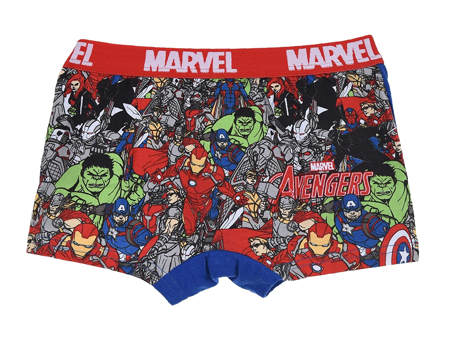 Avengers Toy Story Boys Paw Patrol Boxer Shorts 2 Pack Set Ages 2-8
