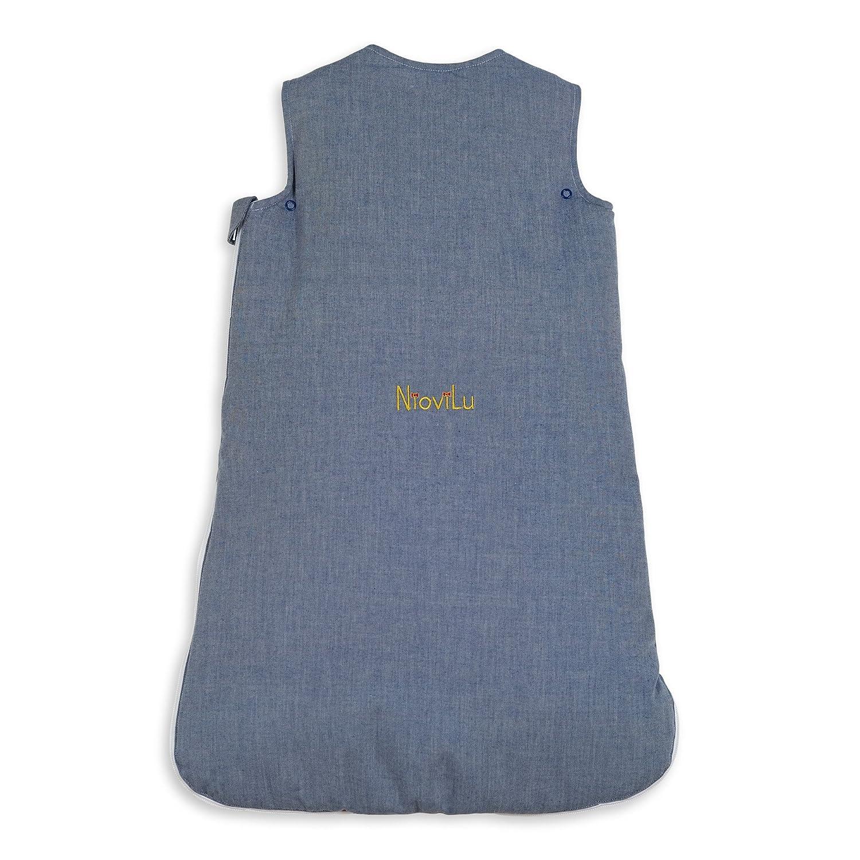 NioviLu Design Saco de dormir para bebé - Battello In Mare (0-6 ...