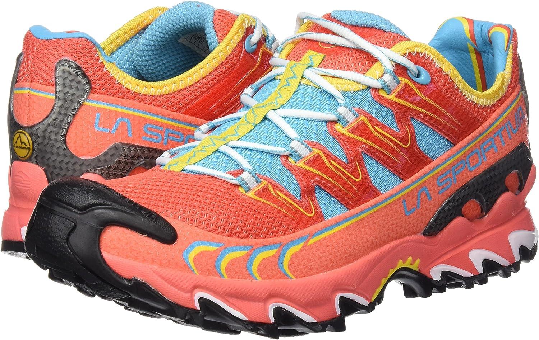 La Sportiva Ultra Raptor Woman - Deportivos de Running para Mujer, Color Coral, Talla 37.5: Amazon.es: Deportes y aire libre