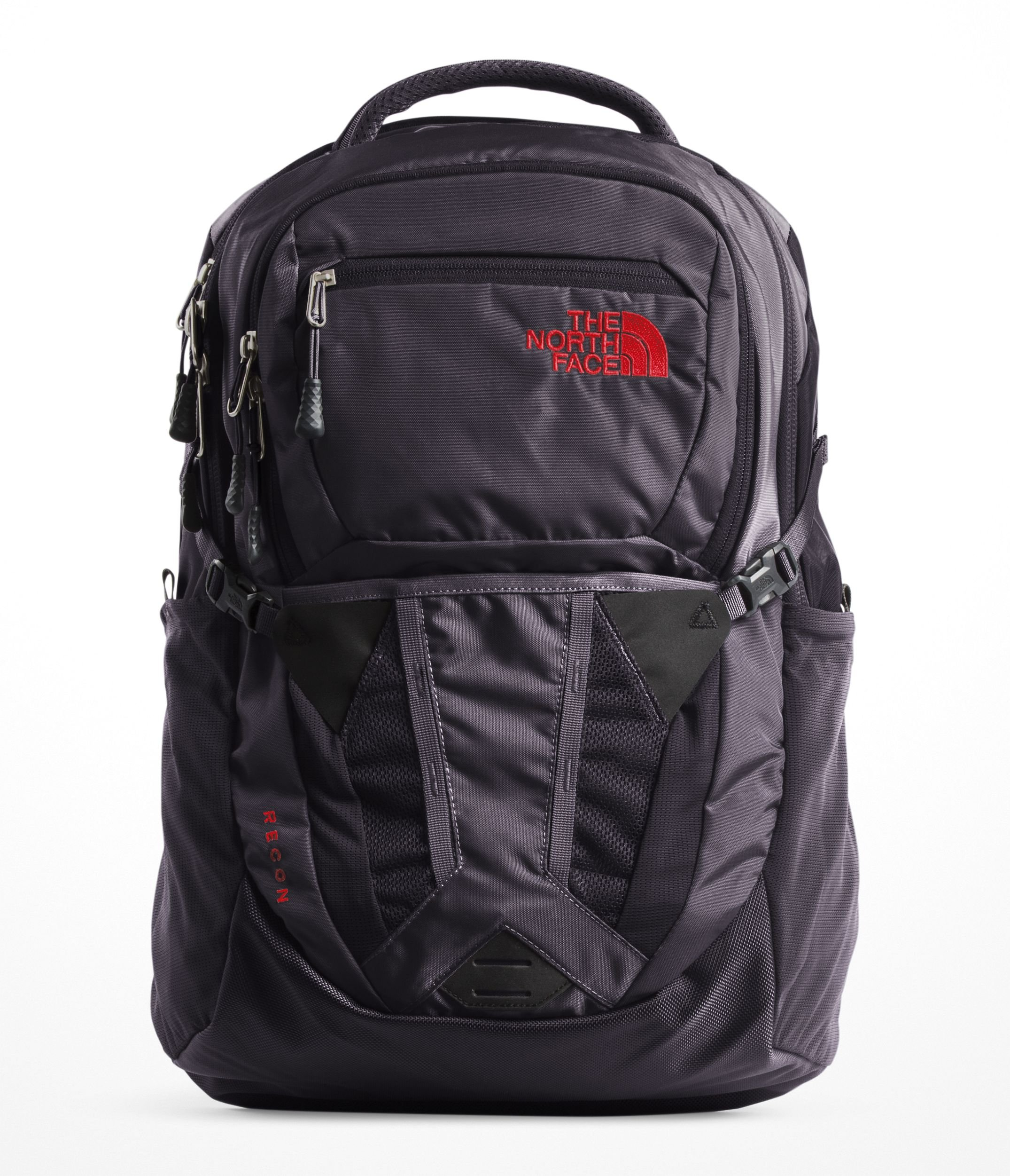 The North Face Women's Recon Laptop Backpack (Galaxy Purple/Juicy Red)