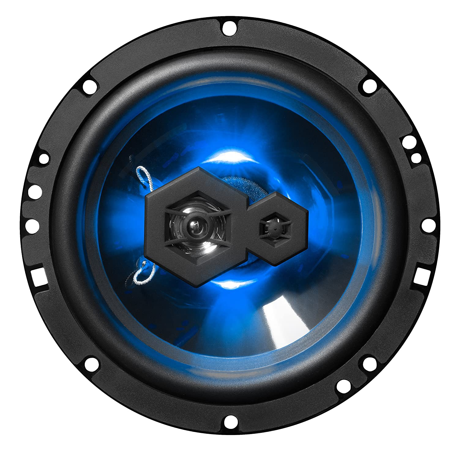 300 Watts of Power Per Pair 150 Watts Each BOSS Audio Systems Elite B65LED 6.5 Inch Car Speakers Sold in Pairs 3 Way