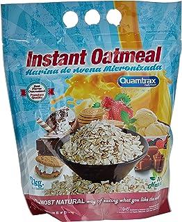 Quamtrax Nutrition Fresa Avena Instantánea - 2000 gr